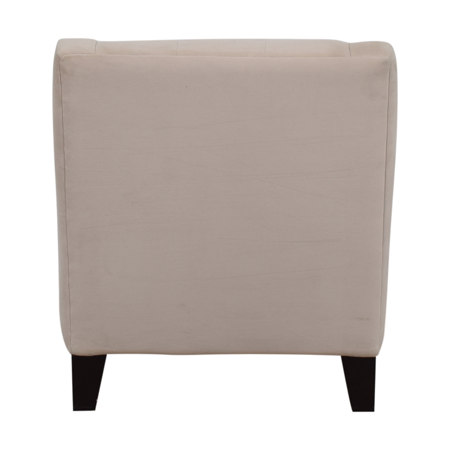 shop Max Home Tufted Cream Velvet Arm Chair Max Home Accent Chairs