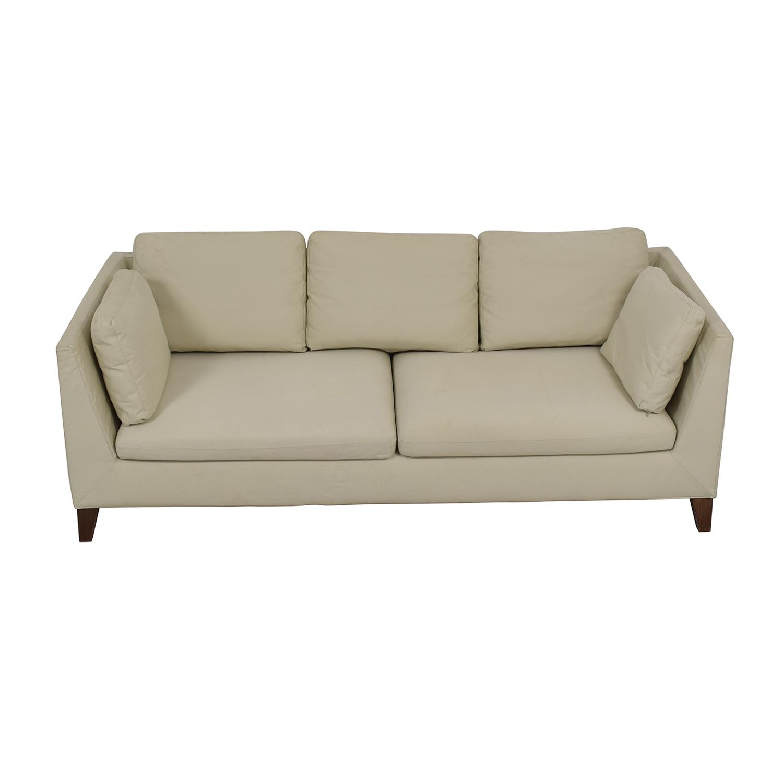 buy IKEA Stockholm Beige Two-Cushion Sofa IKEA Sofas