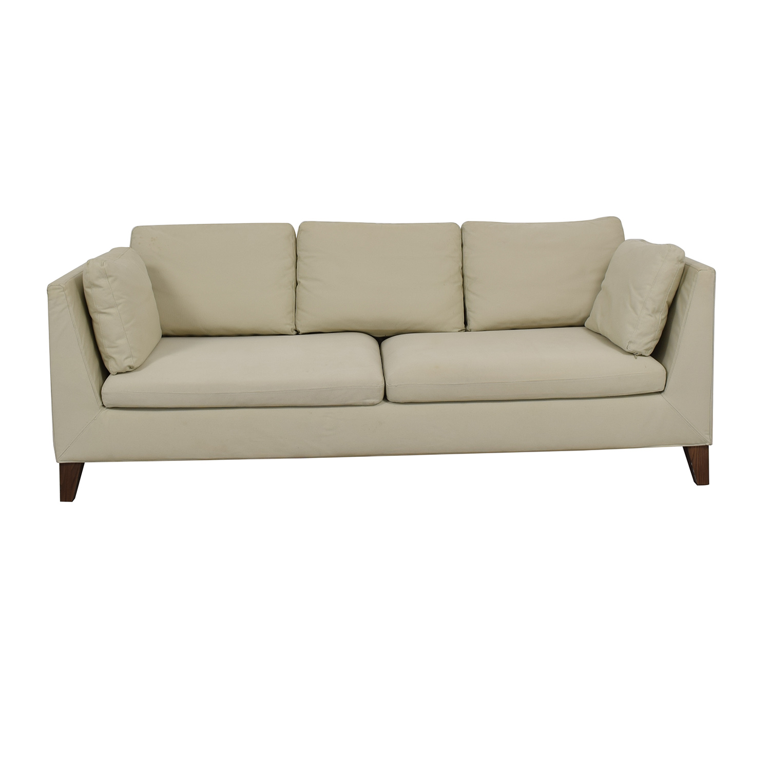 IKEA IKEA Stockholm Beige Two-Cushion Sofa / Sofas