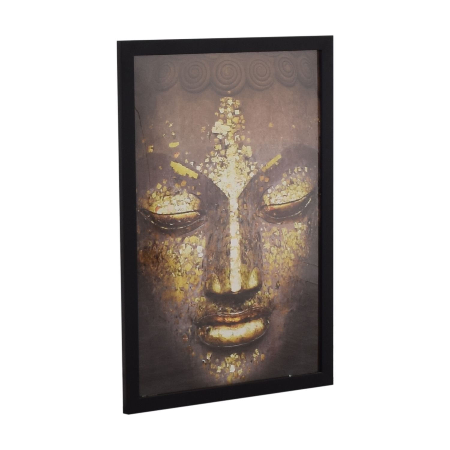 Buddha Black Framed Picture discount