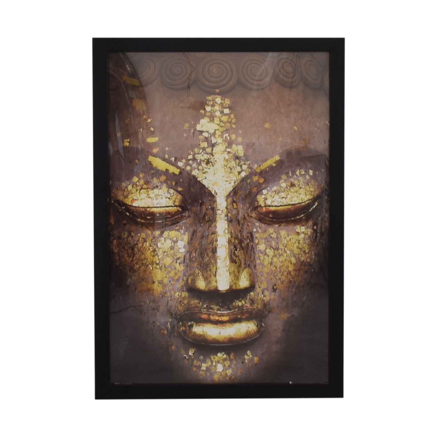 Buddha Black Framed Picture coupon