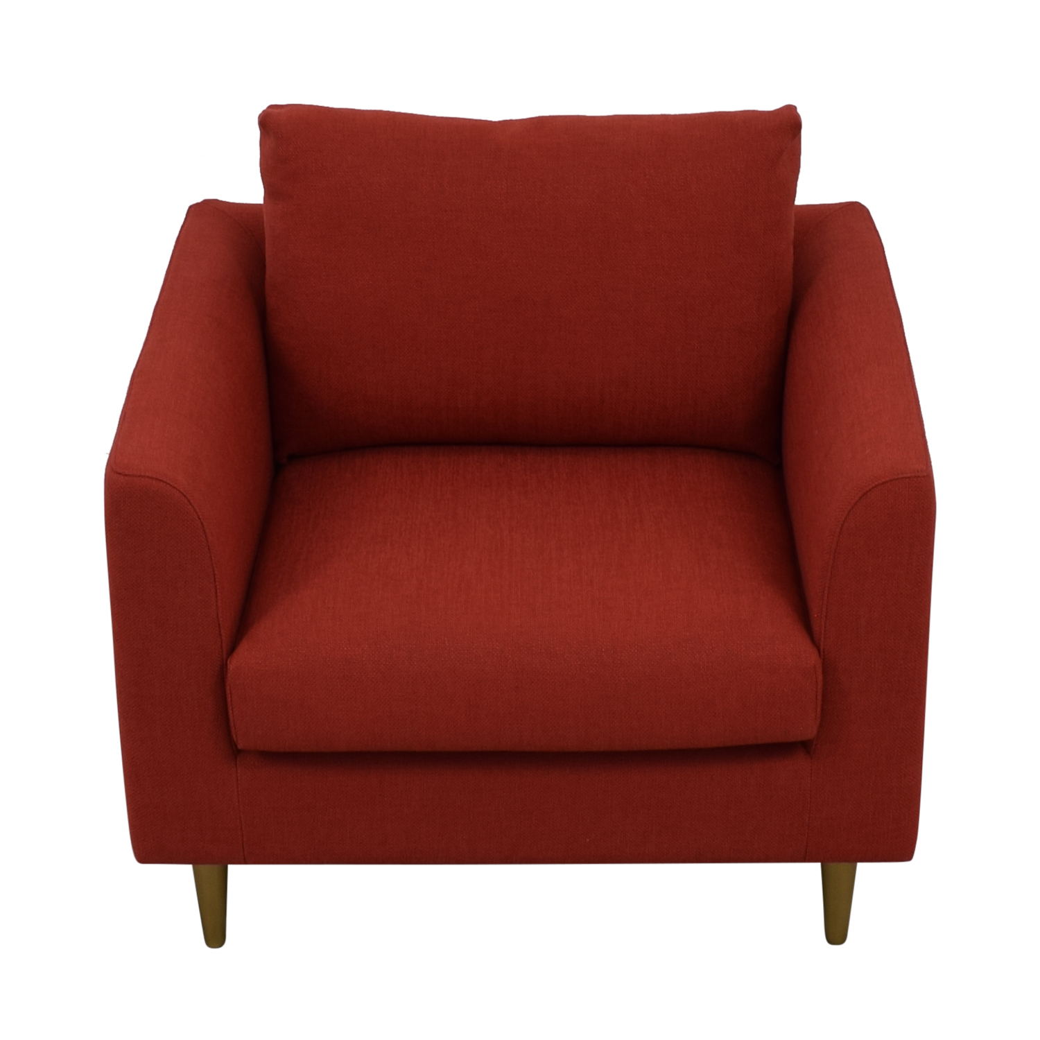 Owens Red Accent Chair red