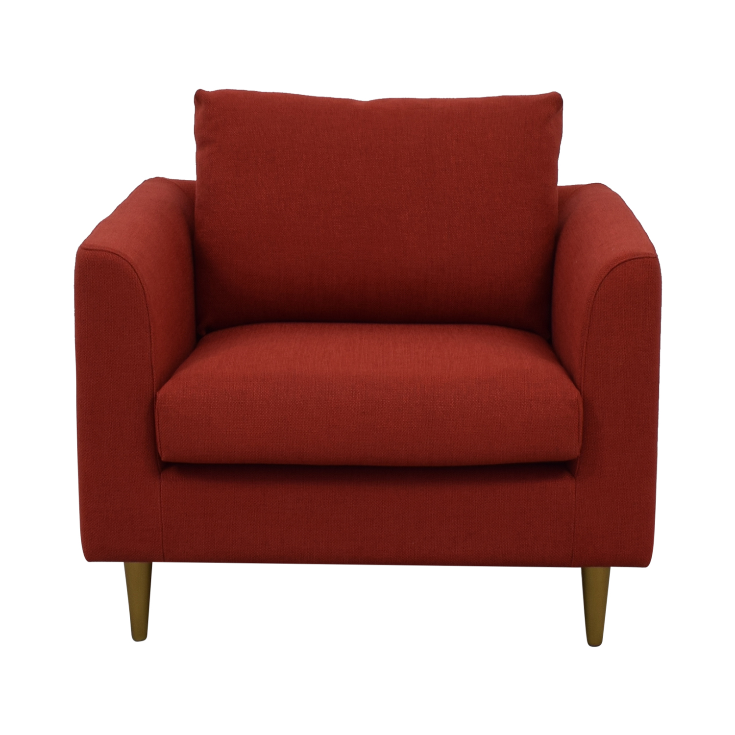 Owens Red Accent Chair second hand