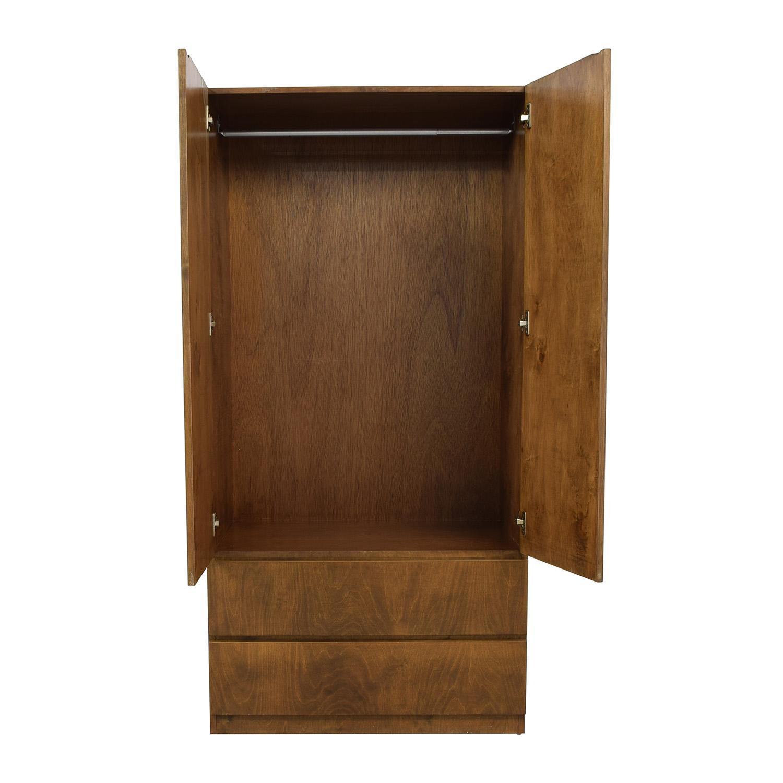 Gothic Cabinet Craft Gothic Cabinet Craft Two-Drawer Wardrobe Closet nj