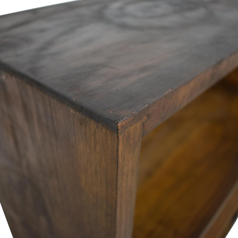 Gothic Cabinet Craft Gothic Cabinet Craft Two-Shelf Bookcase Storage