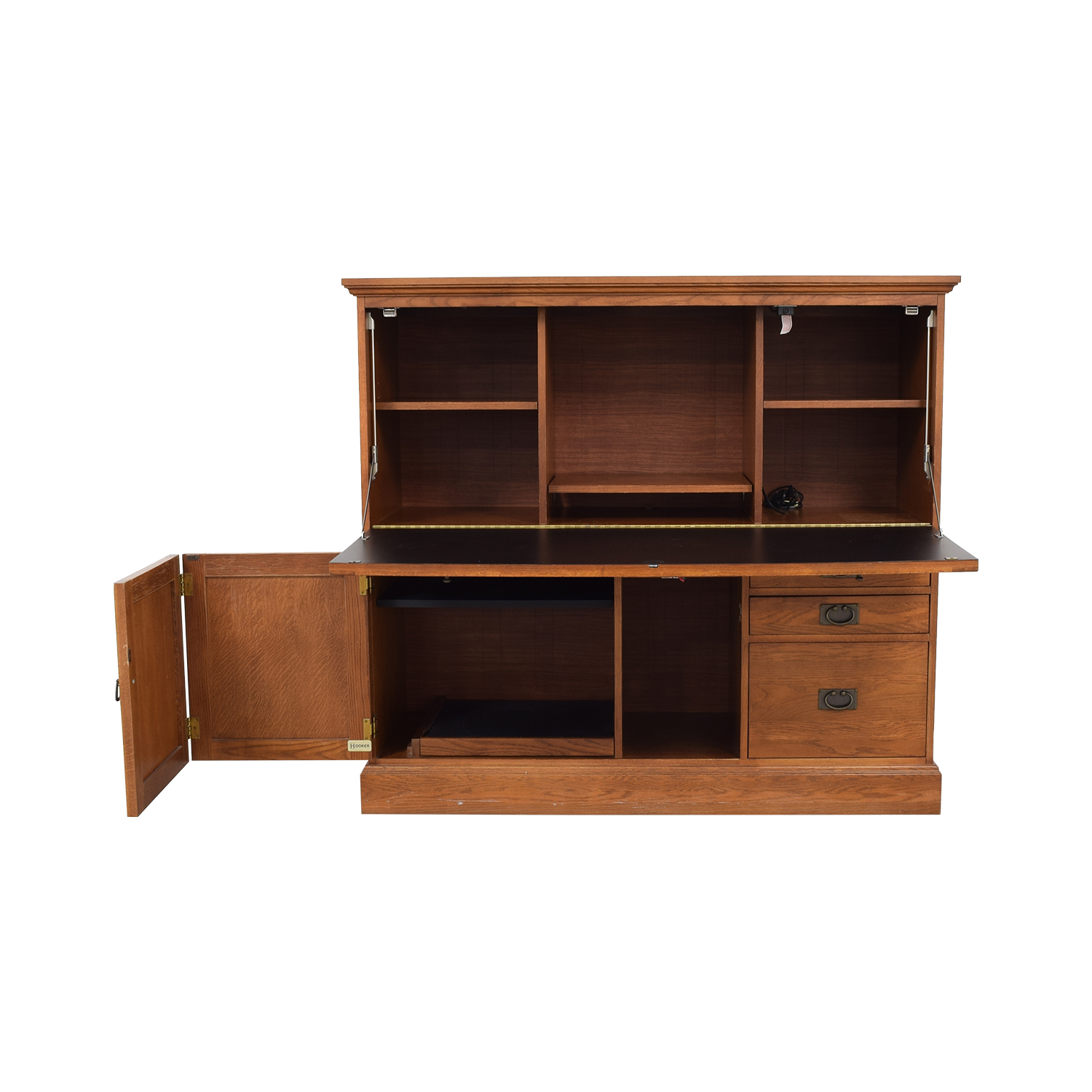Hooker Furniture Hooker Furniture Cherry Desk Credenza nj