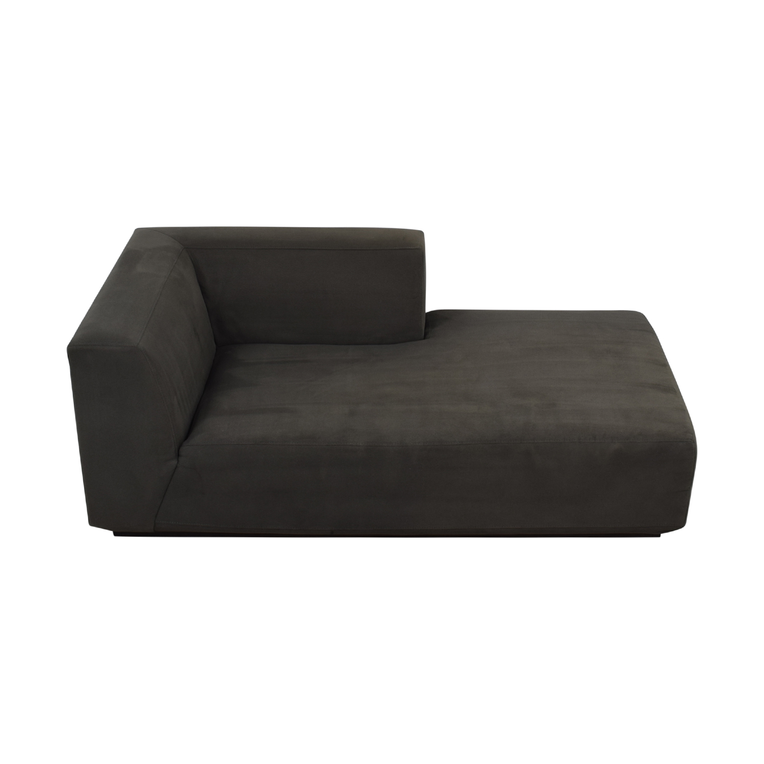 buy West Elm Grey Left Chaise West Elm Sofas
