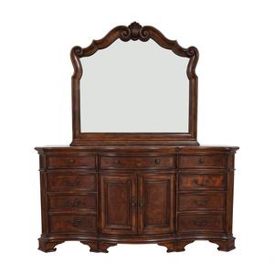 buy  Vintage Wood Twelve-Drawer Dresser online