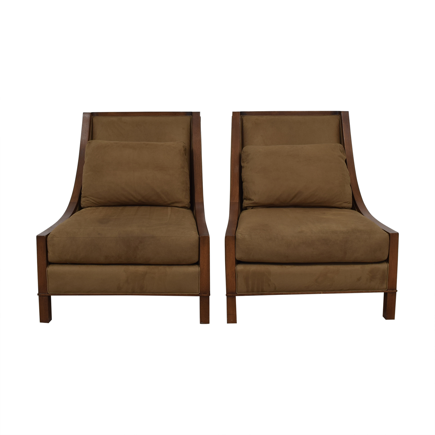 Baker Furniture Baker Furniture Tan Accent Chairs nyc