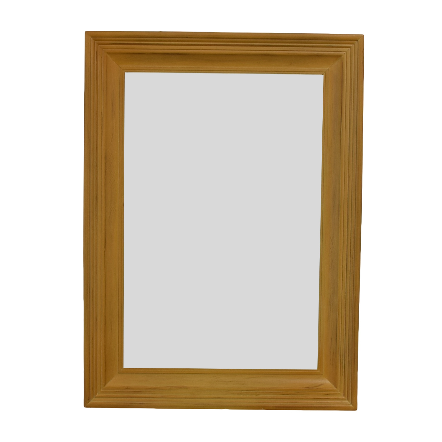Wood Framed Wall Mirror coupon