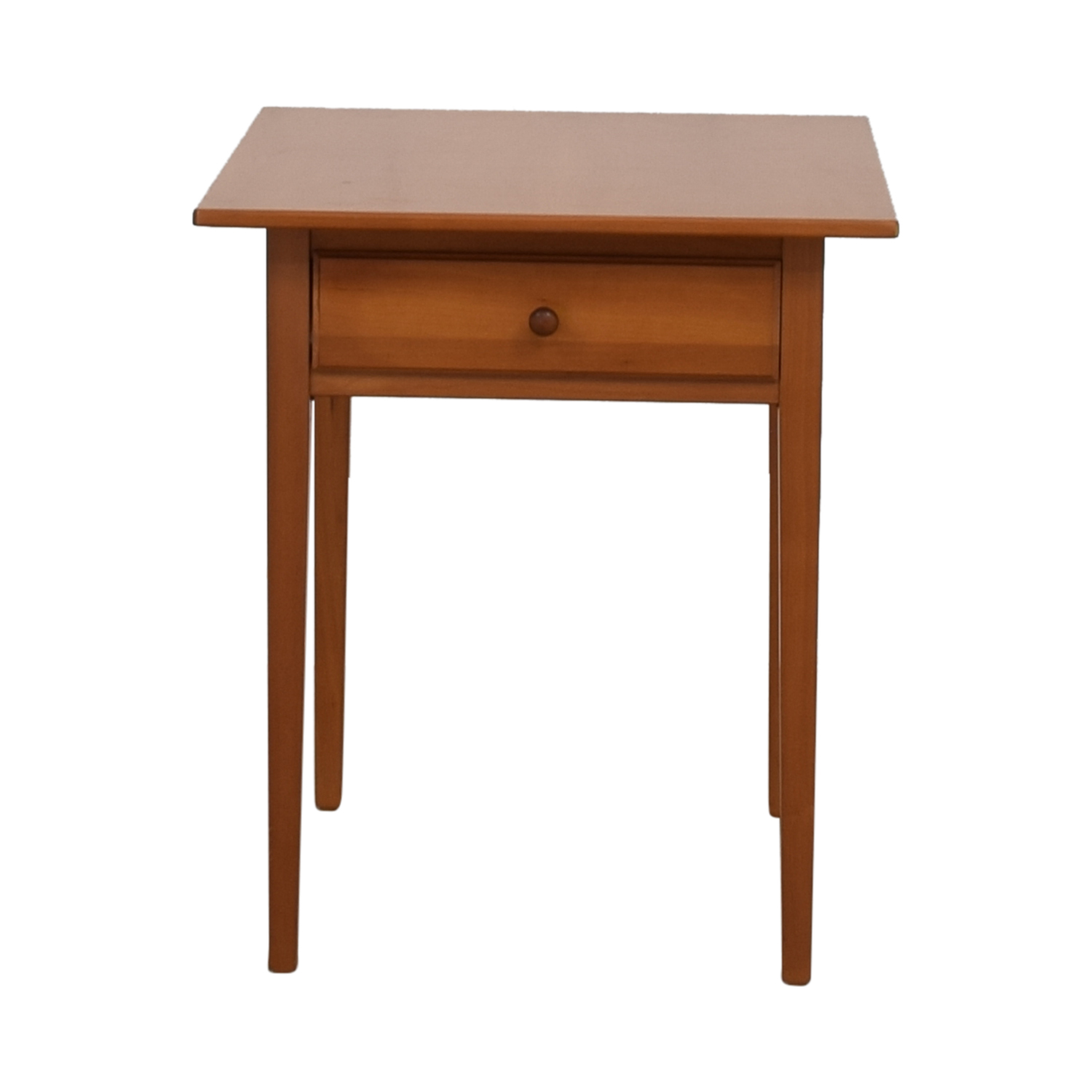 Wood Single-Drawer End table sale
