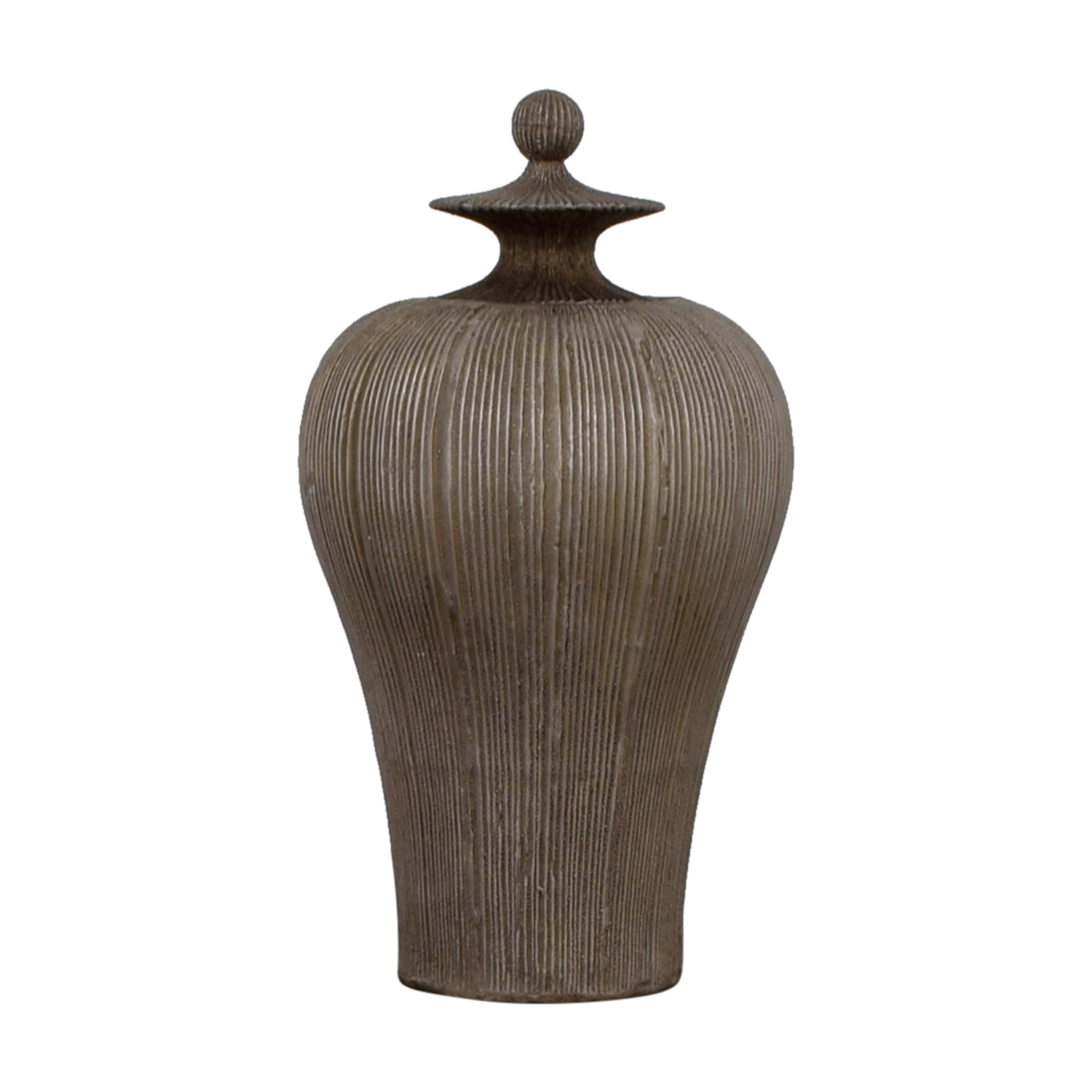 Dark Gold Urn / Decorative Accents