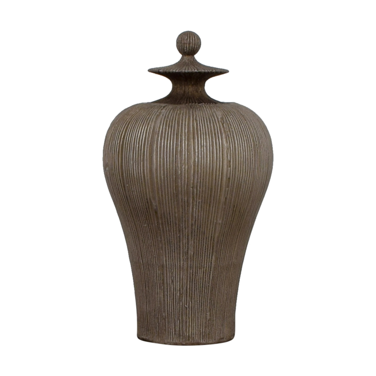 Distressed Dark Gold Urn sale