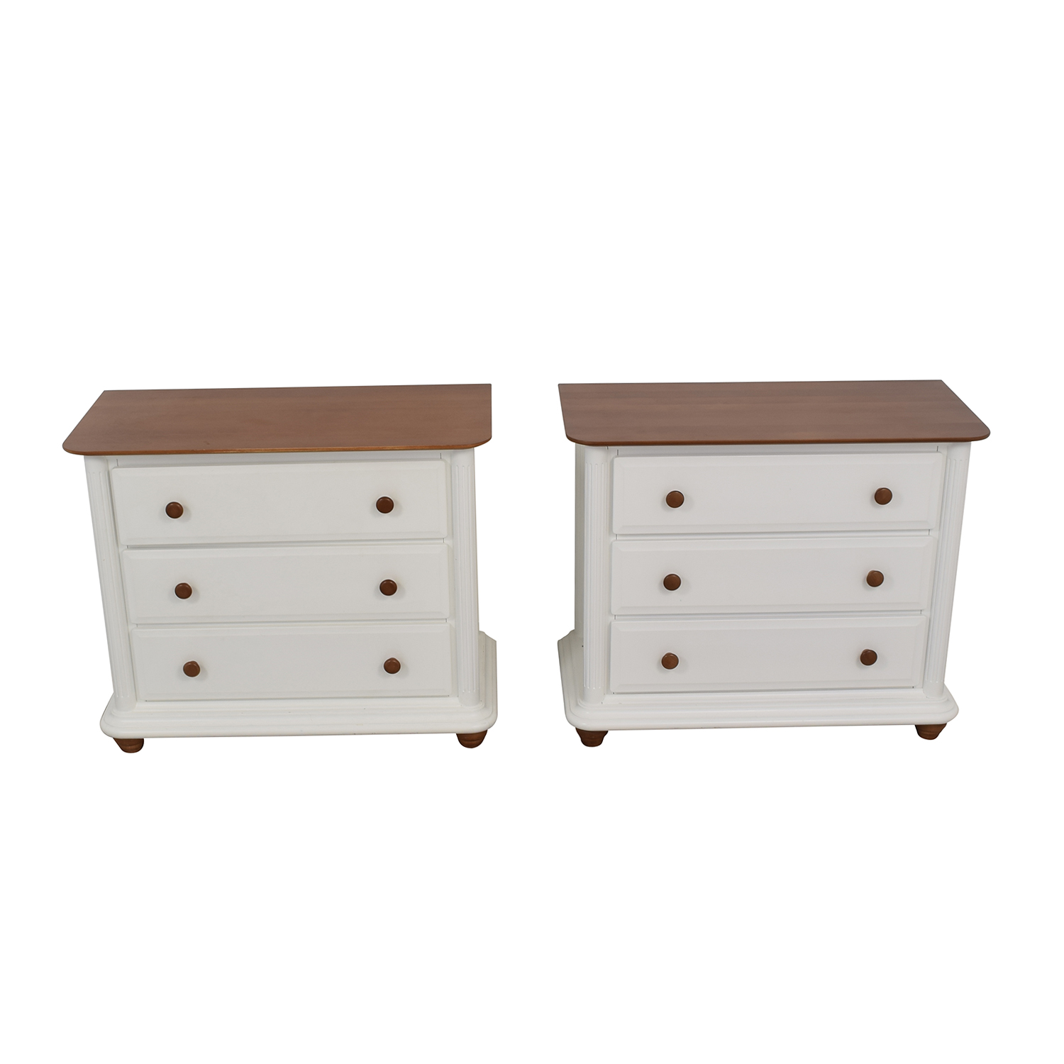 Romina Romina Verona White Three-Drawer Dressers nyc