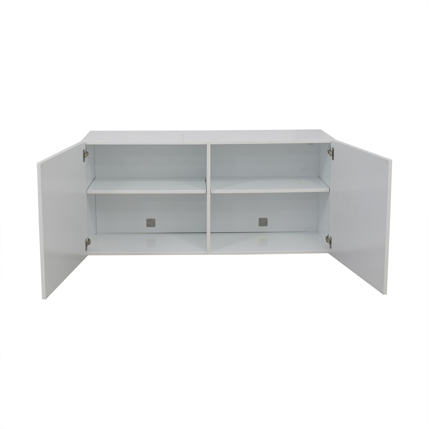shop CB2 Fuel White Credenza CB2 Cabinets & Sideboards