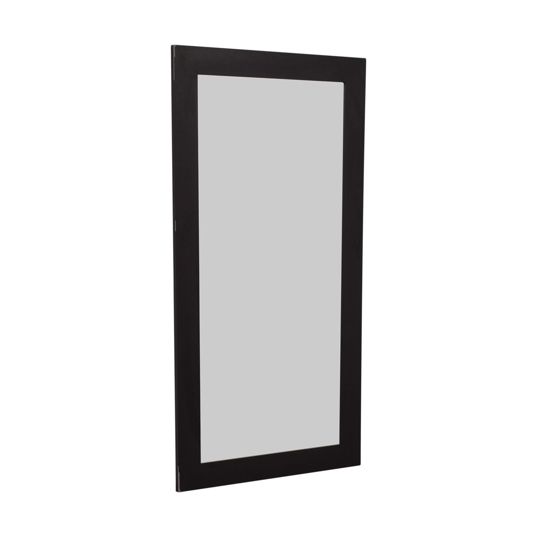 buy Oakdale Decor Oakdale Decor Black Framed Floor Mirror online