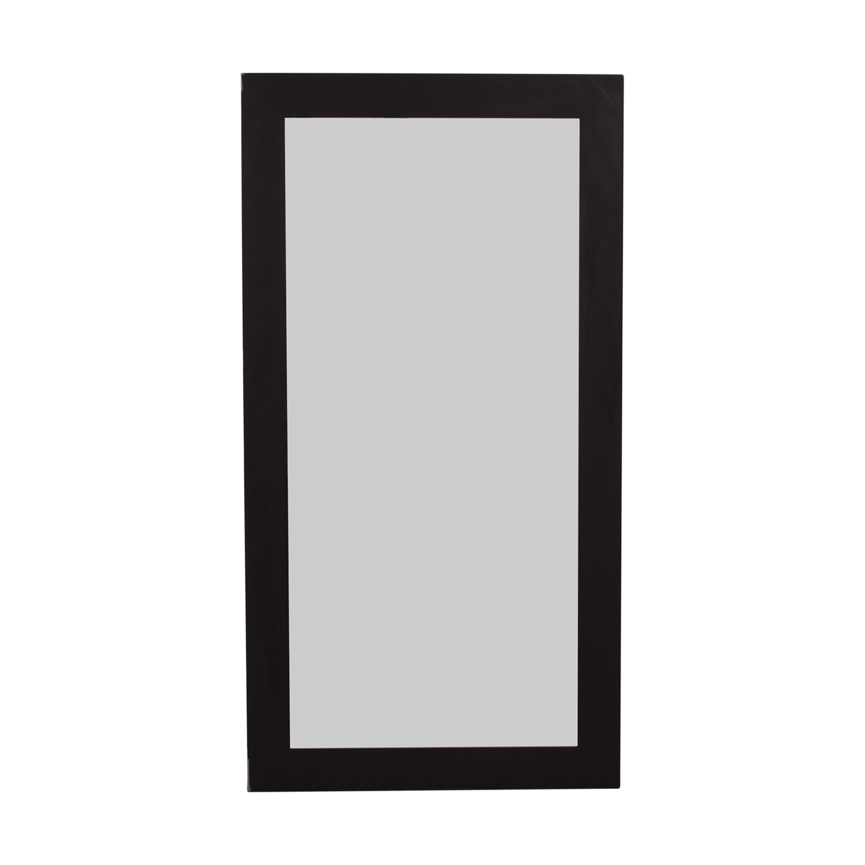 Oakdale Decor Oakdale Decor Black Framed Floor Mirror second hand