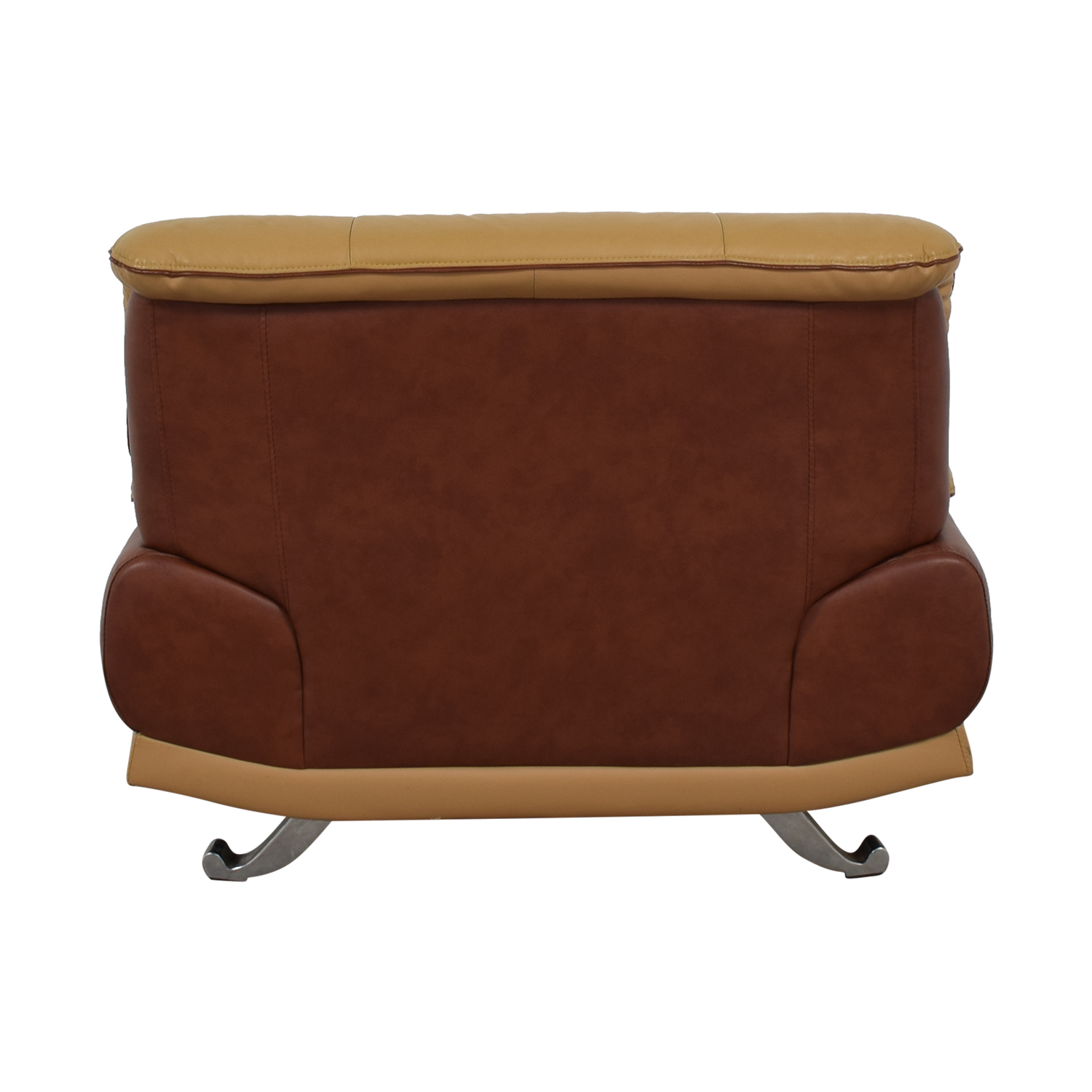 buy AE Furniture Brown and Tan Accent Chair AE Furniture Chairs