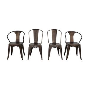 Tabouret Bronze Metal Bistro Chairs price
