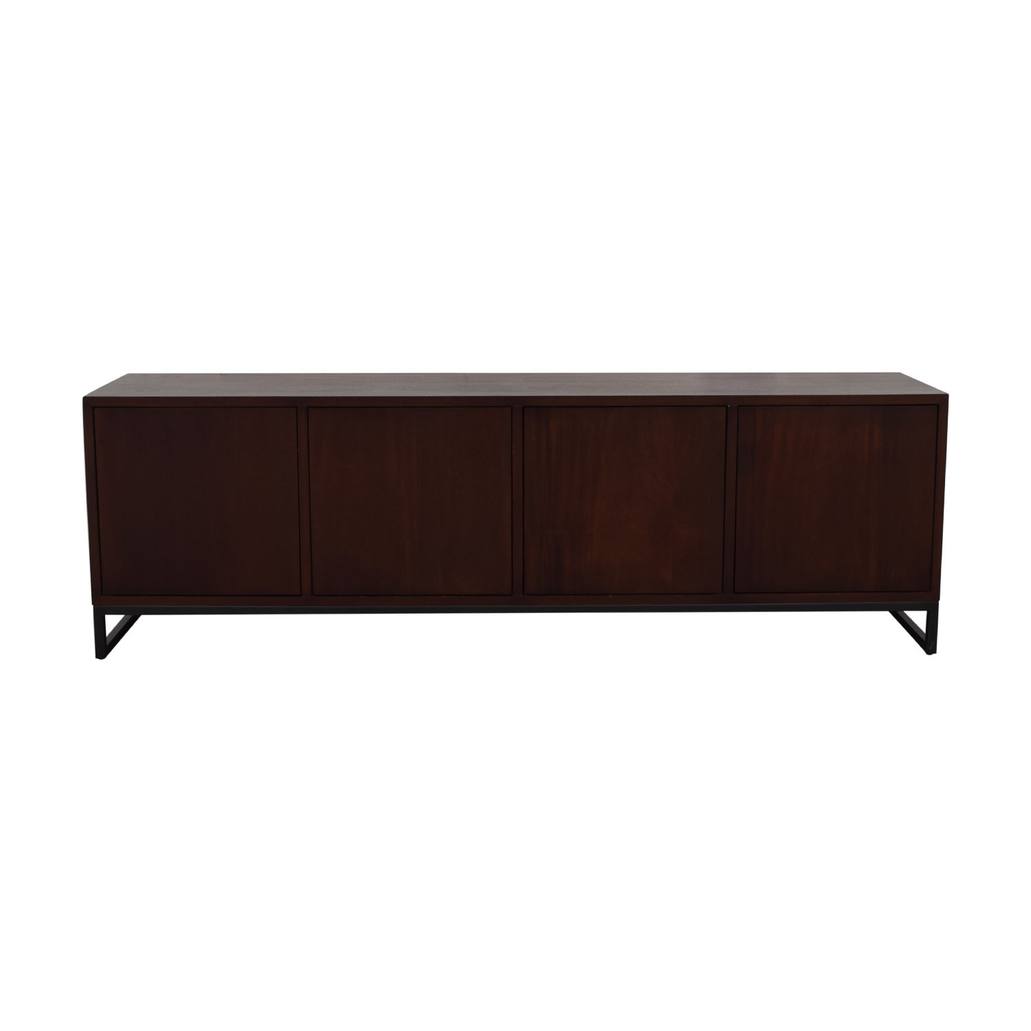 buy Desiron Wood Two Drawer and Shelves Credenza Desiron