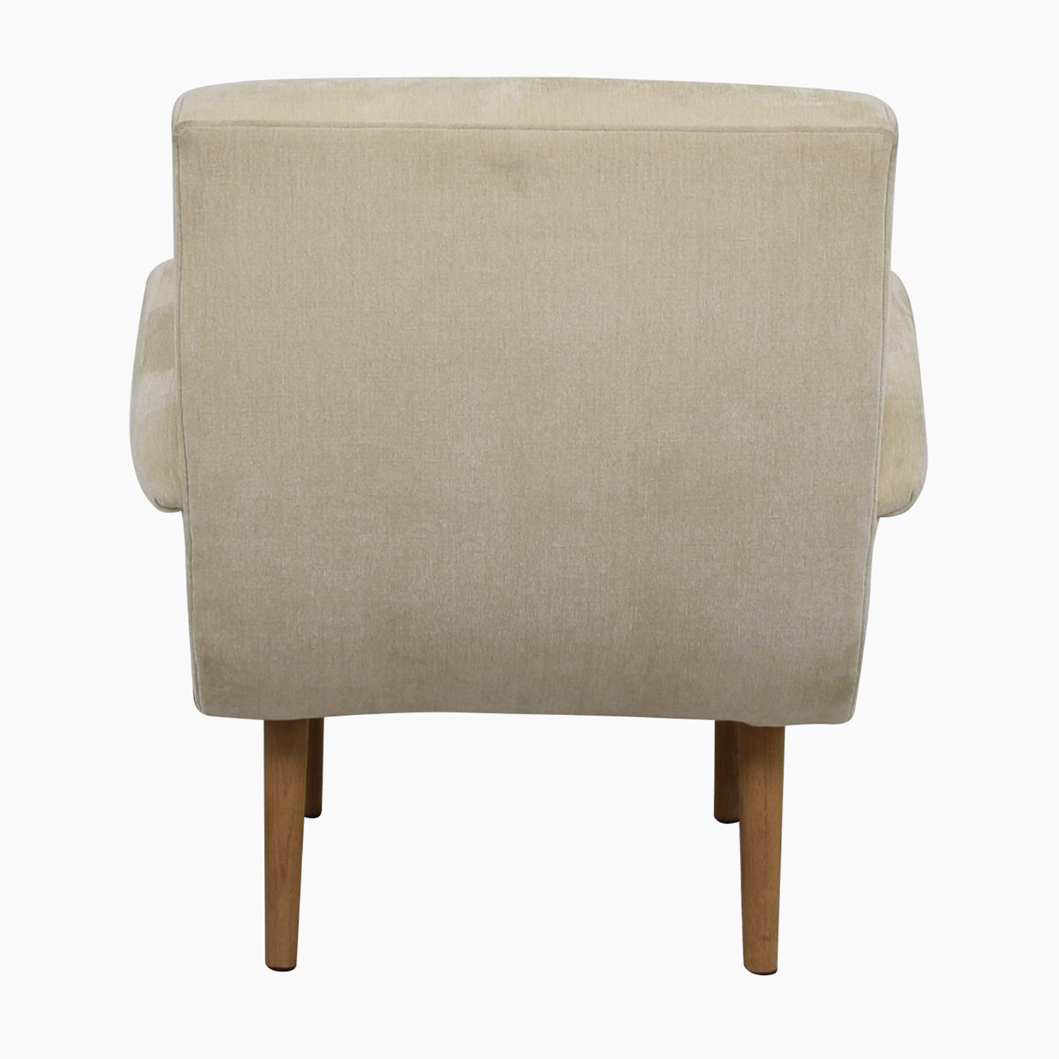 shop Furniture Masters Furniture Masters Beige Upholstered Wing Accent Chair online