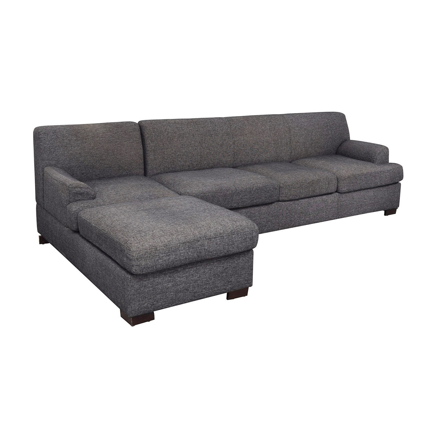 Grey Chaise Sectional Sofa sale