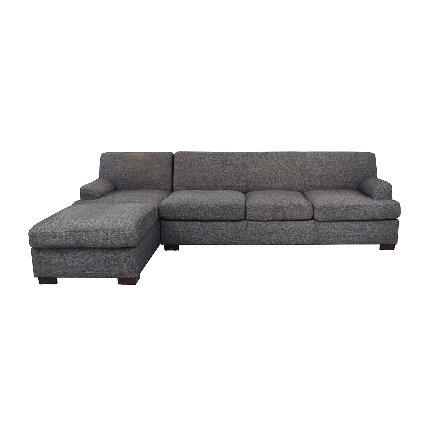 Grey Chaise Sectional Sofa second hand