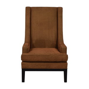 Furniture Masters Furniture Masters Brown Upholstered Accent Chair on sale
