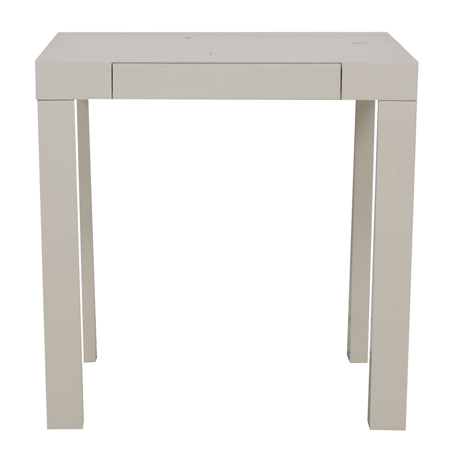 West Elm White Parsons Mini Desk Home Office Desks