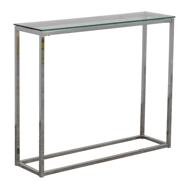 Fabulous 55 Off Wayfair Wayfair Glass And Chrome Console Table Tables Bralicious Painted Fabric Chair Ideas Braliciousco