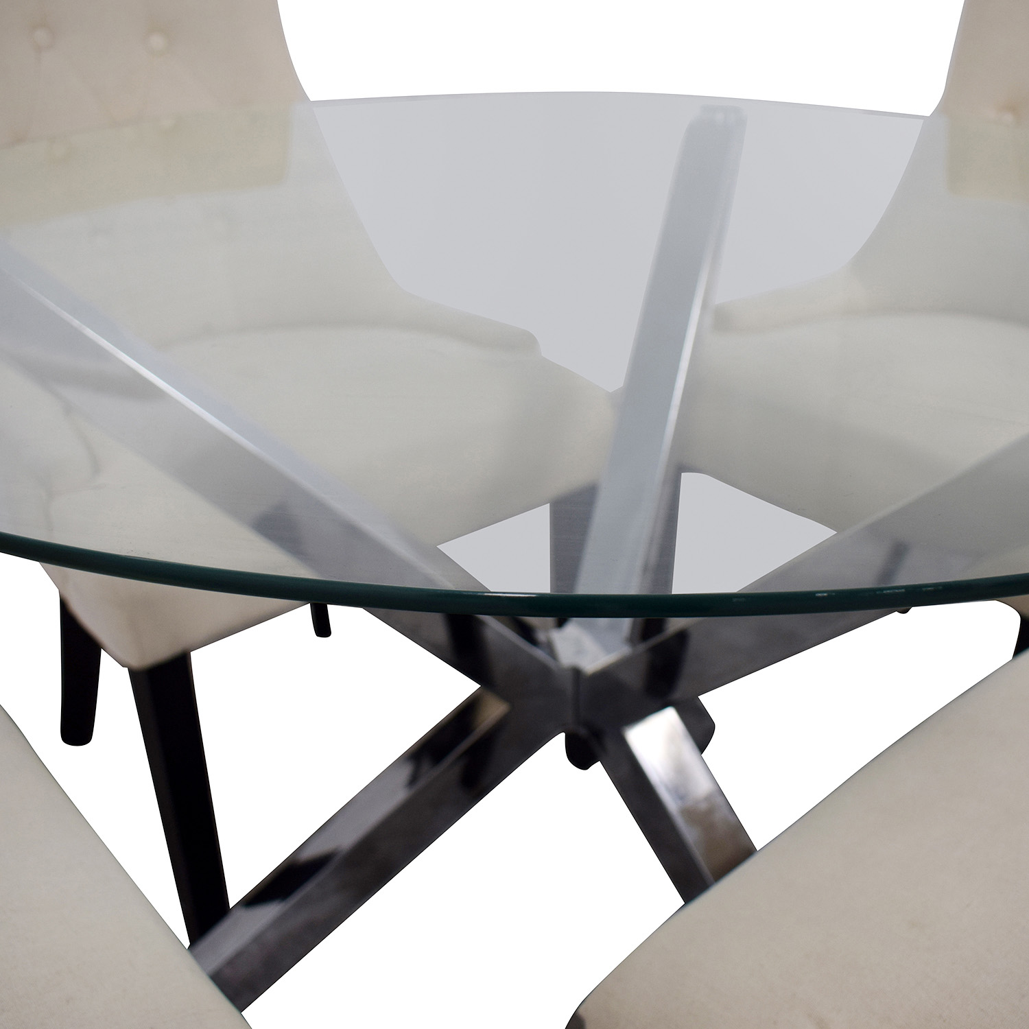 Wayfair Wayfair Round Glass Dining Set used