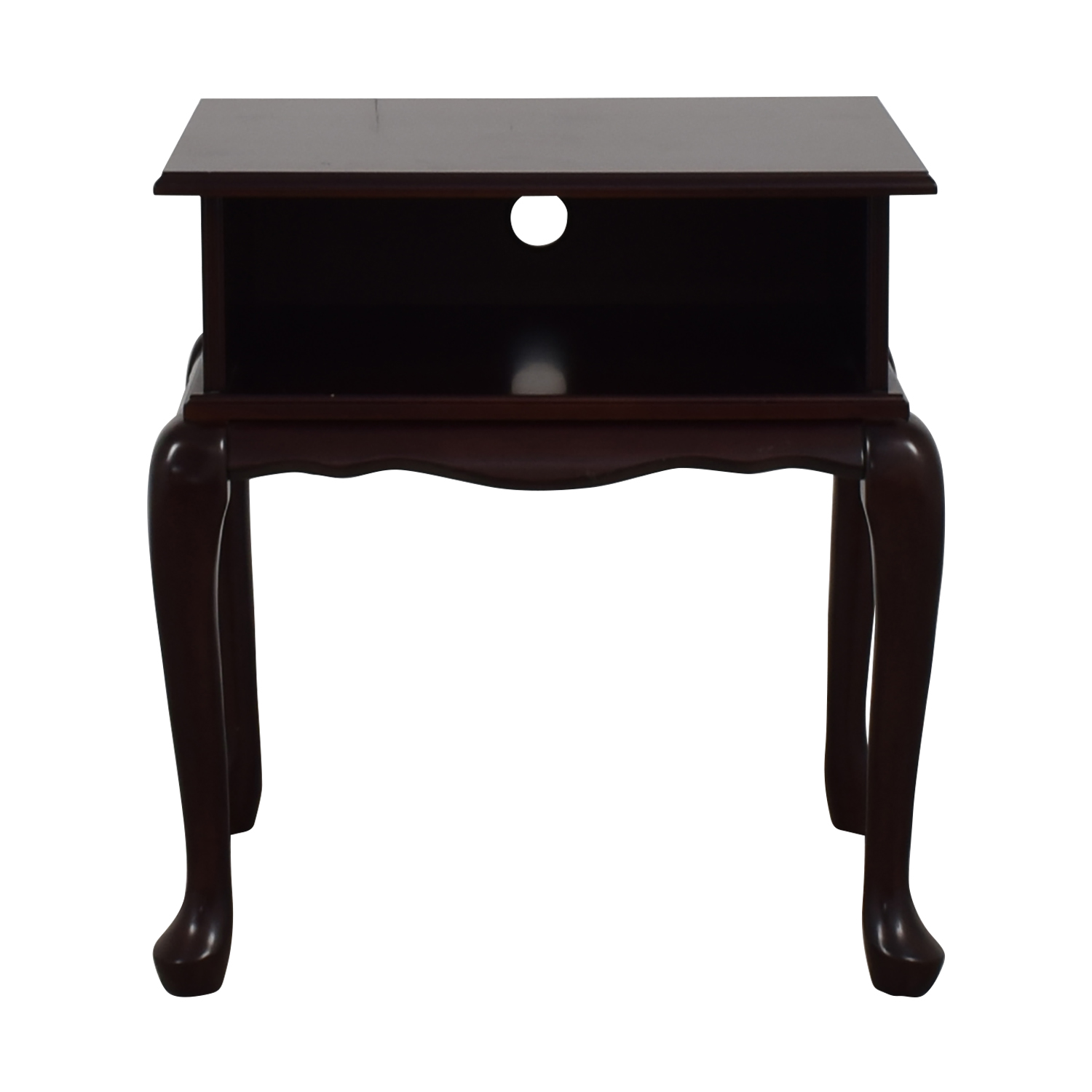 Bombay Dovetailed Wood End Table / Tables
