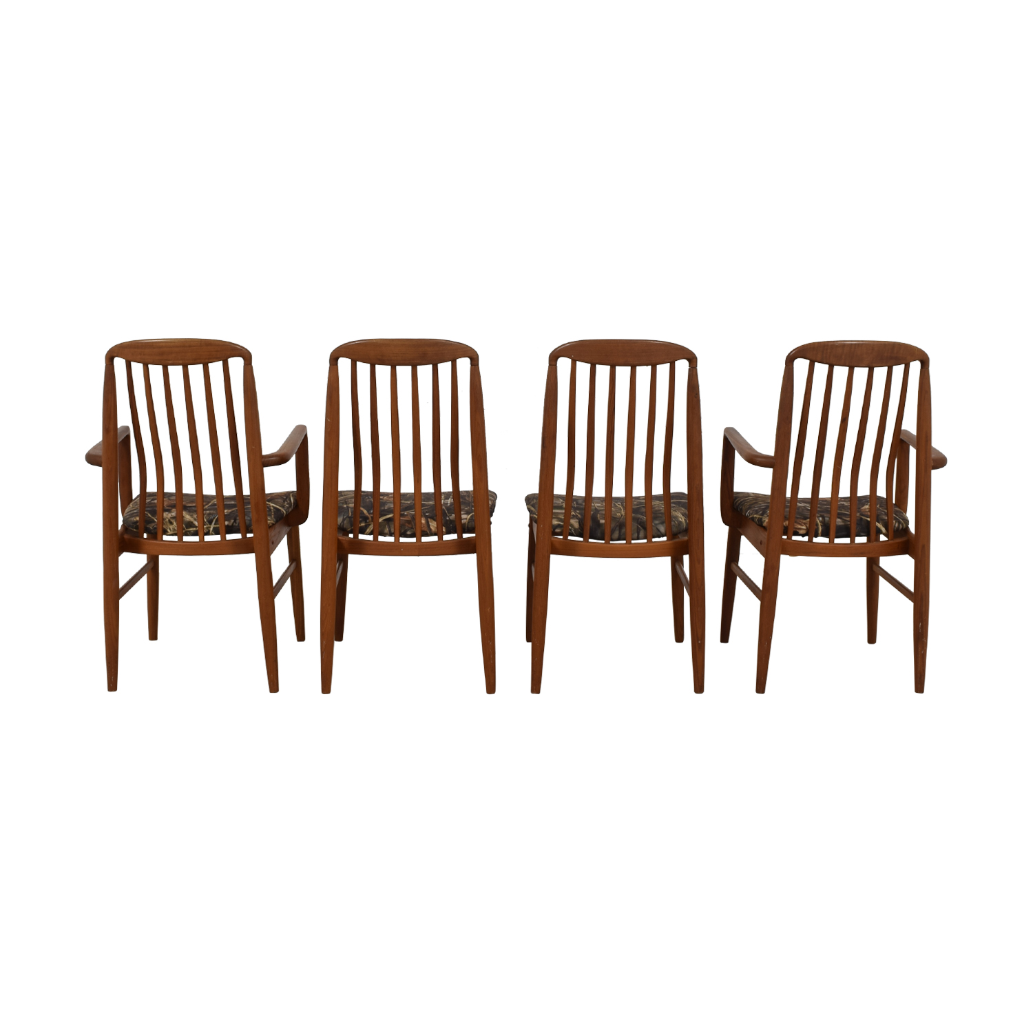 Scan Design Scan Design Danish Wood Curved Back Dining Chairs coupon