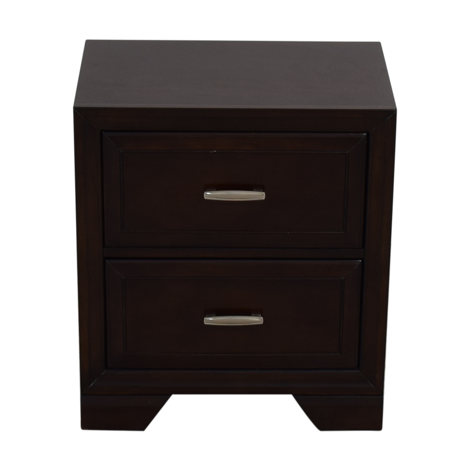 shop Raymour & Flanigan Raymour & Flanigan Wood Two-Drawer End Table online