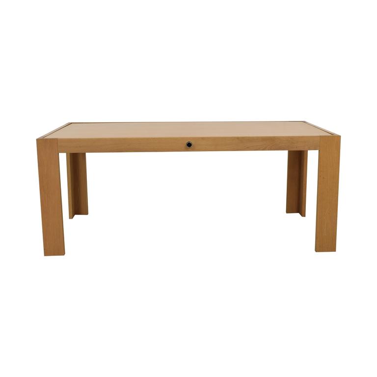 Blu Dot Blu Dot Flip Top White to Wood Dining Table used