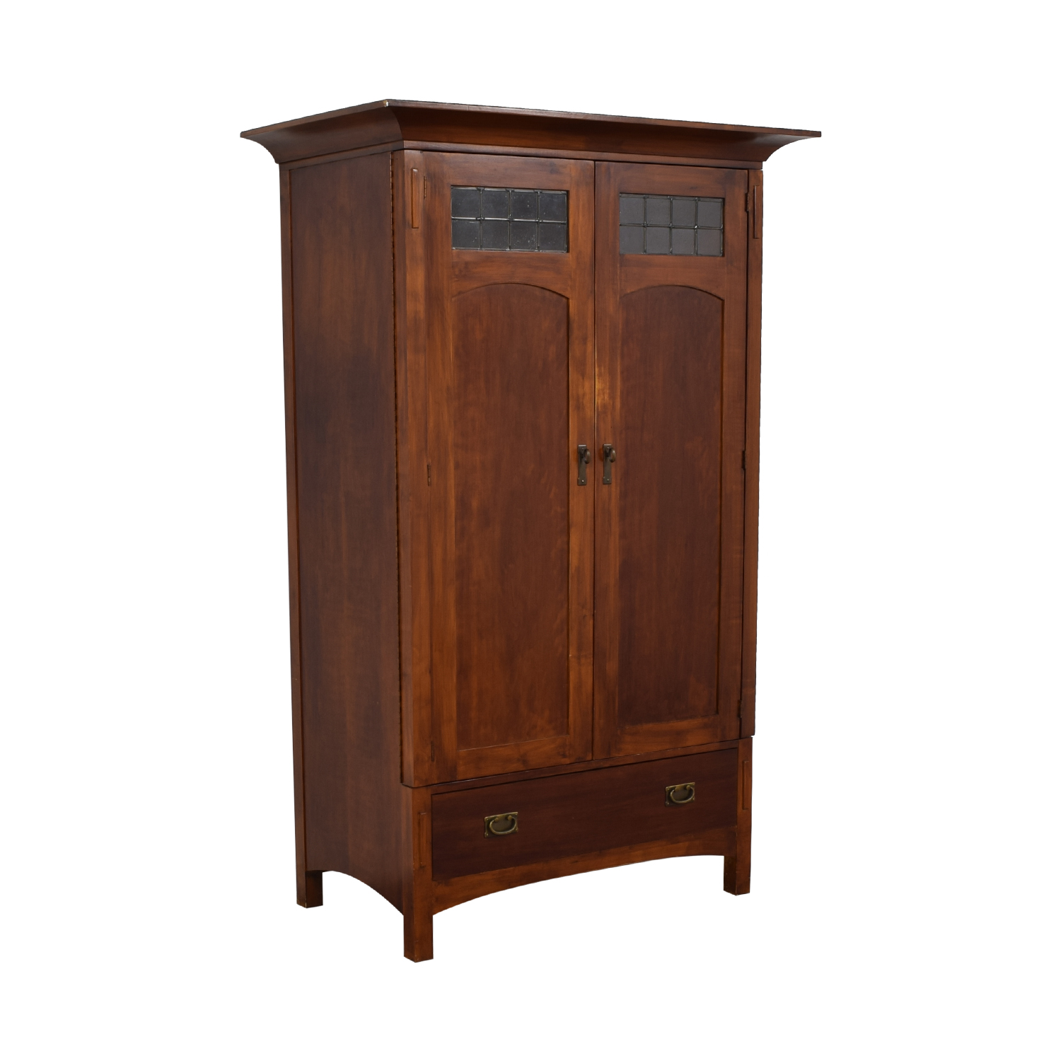 Romweber Romweber Wood Single-Drawer Entertainment Armoire second hand