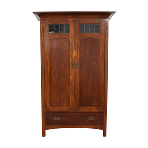 buy Romweber Wood Single-Drawer Entertainment Armoire Romweber Storage