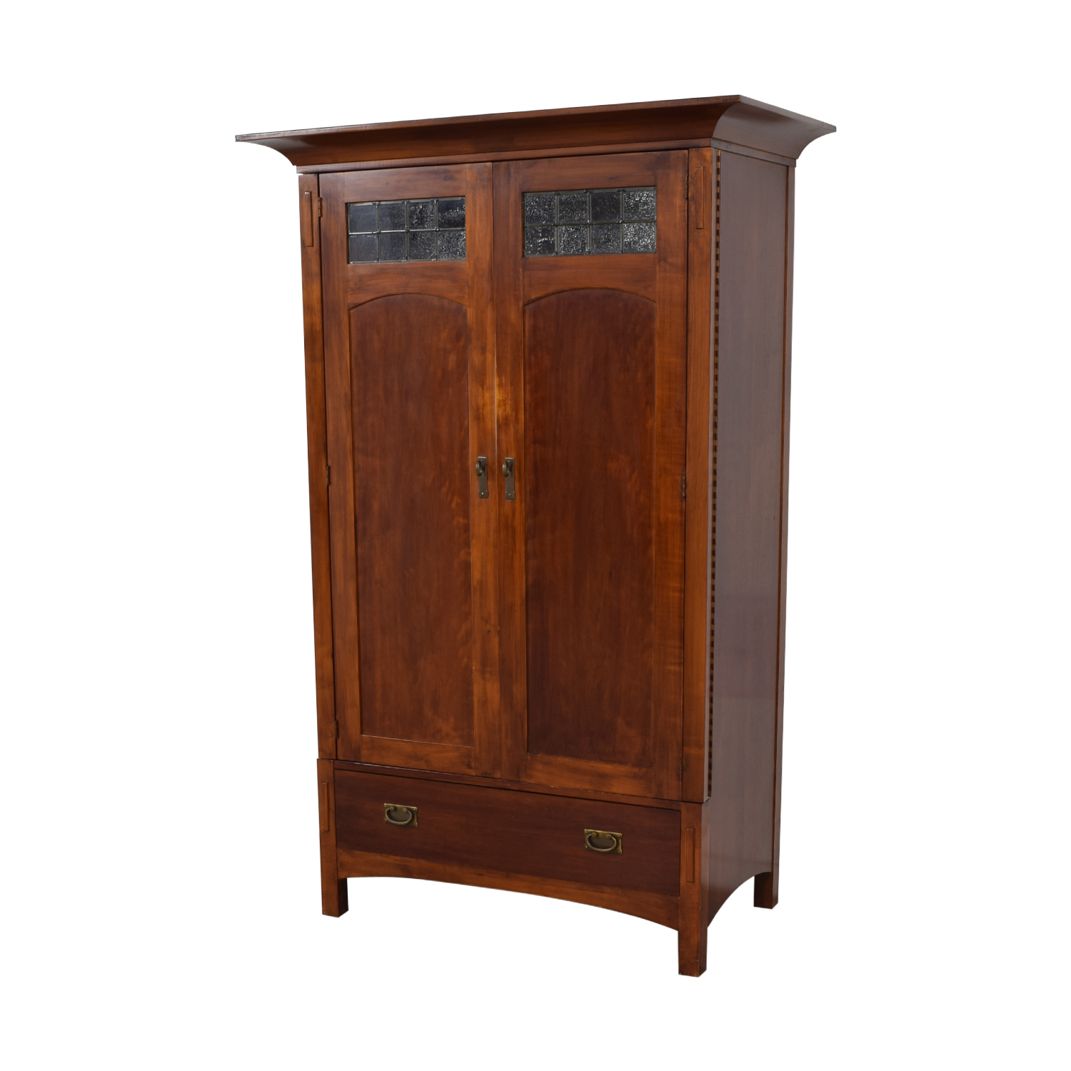Romweber Romweber Wood Single-Drawer Entertainment Armoire ma
