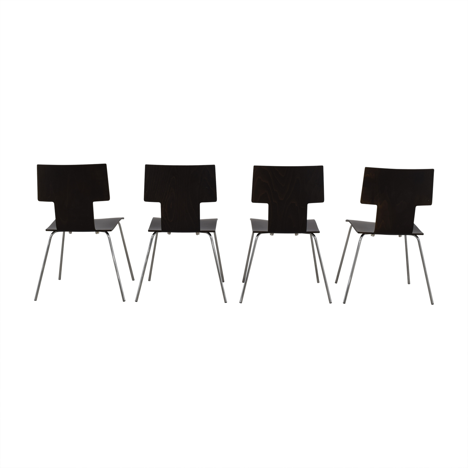 Dark Wood Dining Chairs / Dining Chairs
