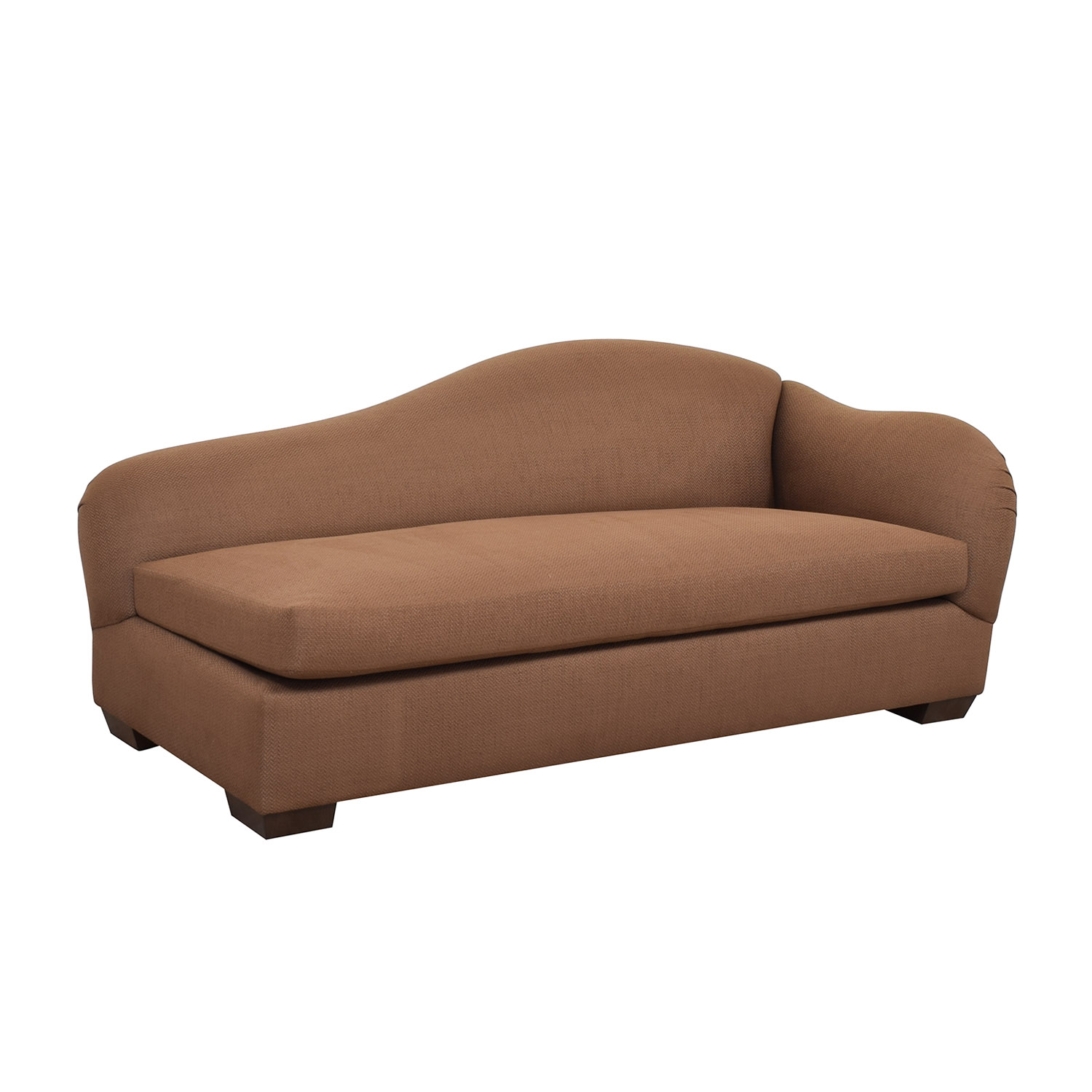 Furniture Masters Brown Chaise Lounge sale