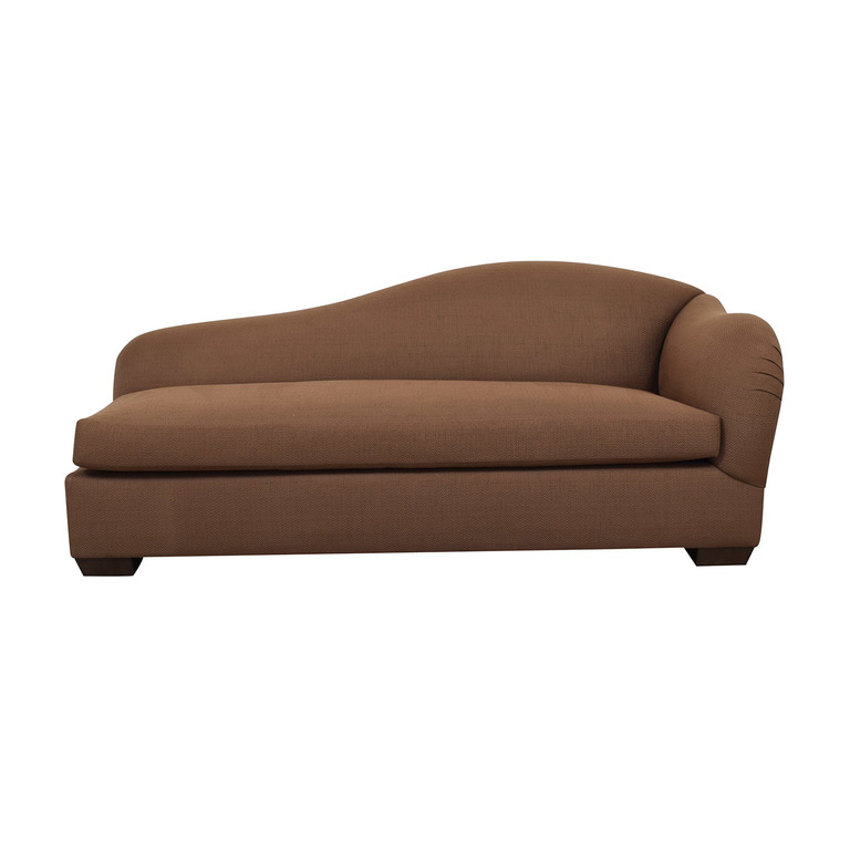 Furniture Masters Brown Chaise Lounge / Sofas