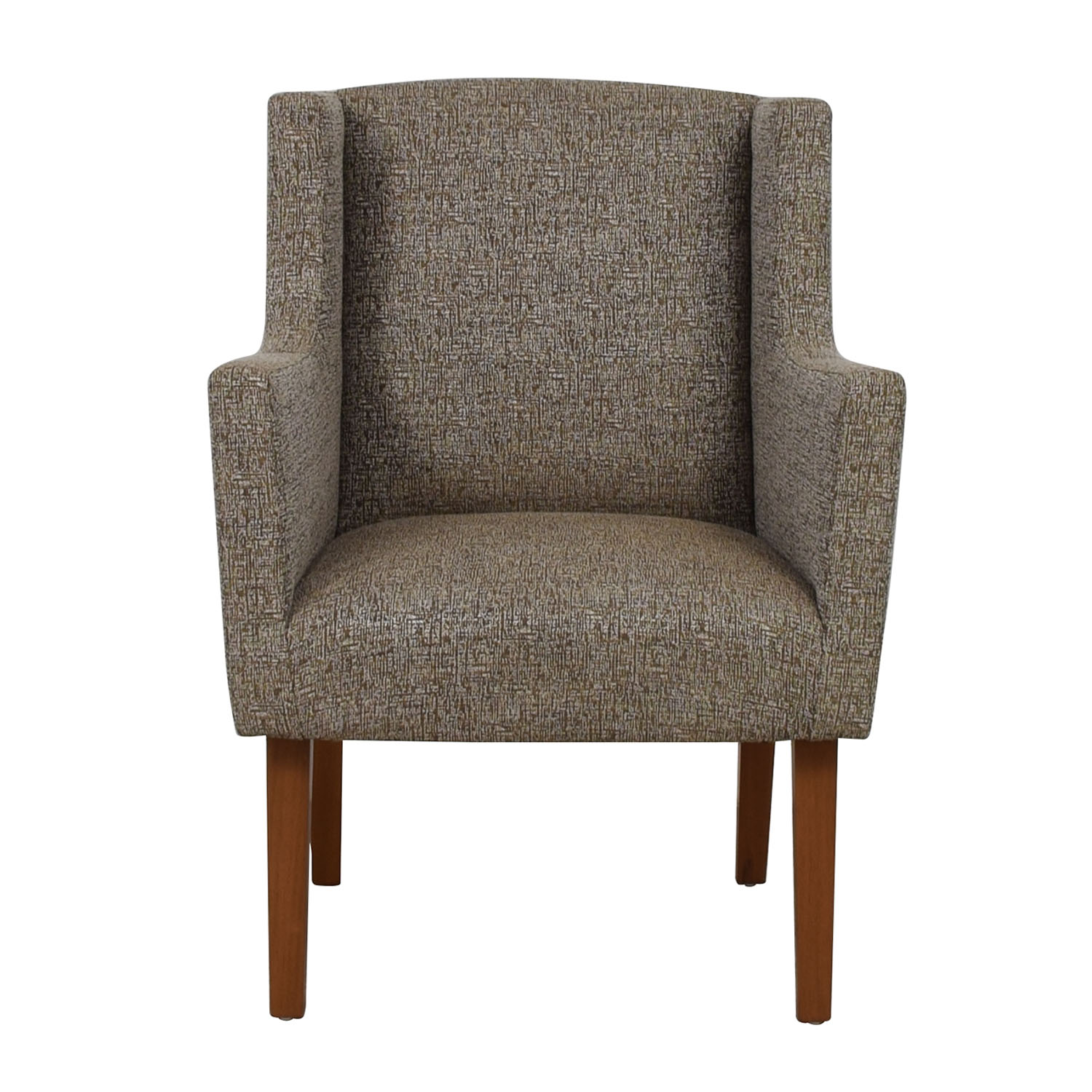 buy Furniture Masters Furniture Masters White and Gold Upholstered Accent Chair online