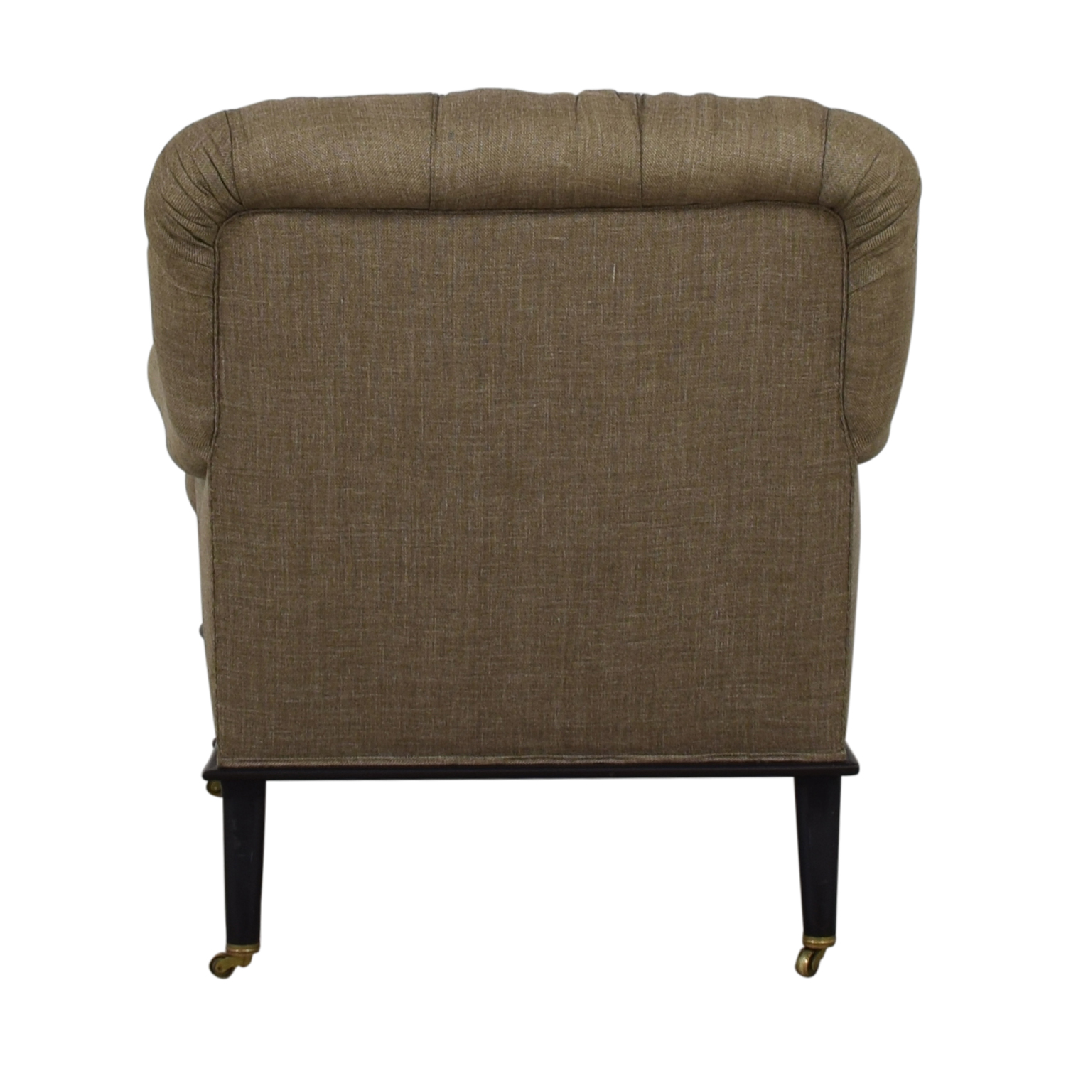 shop Furniture Masters Grey Tufted Accent Chair Furniture Masters Sofas