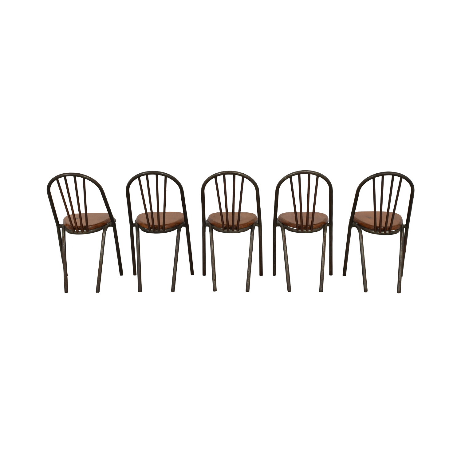 Furniture Masters Furniture Masters Wood and Metal Dining Chairs for sale