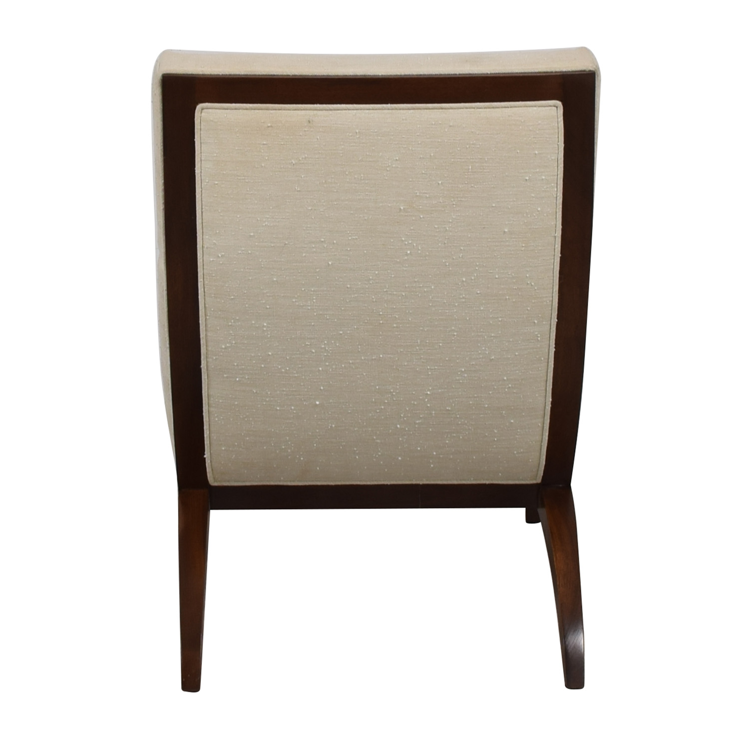 shop Furniture Masters White Linen Accent Chair Furniture Masters