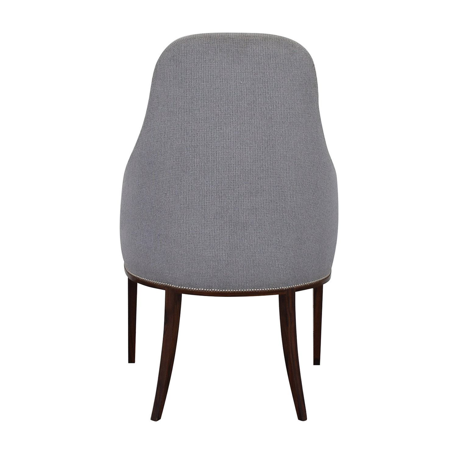 Furniture Masters Furniture Masters Light Blue Upholstered Chair nyc