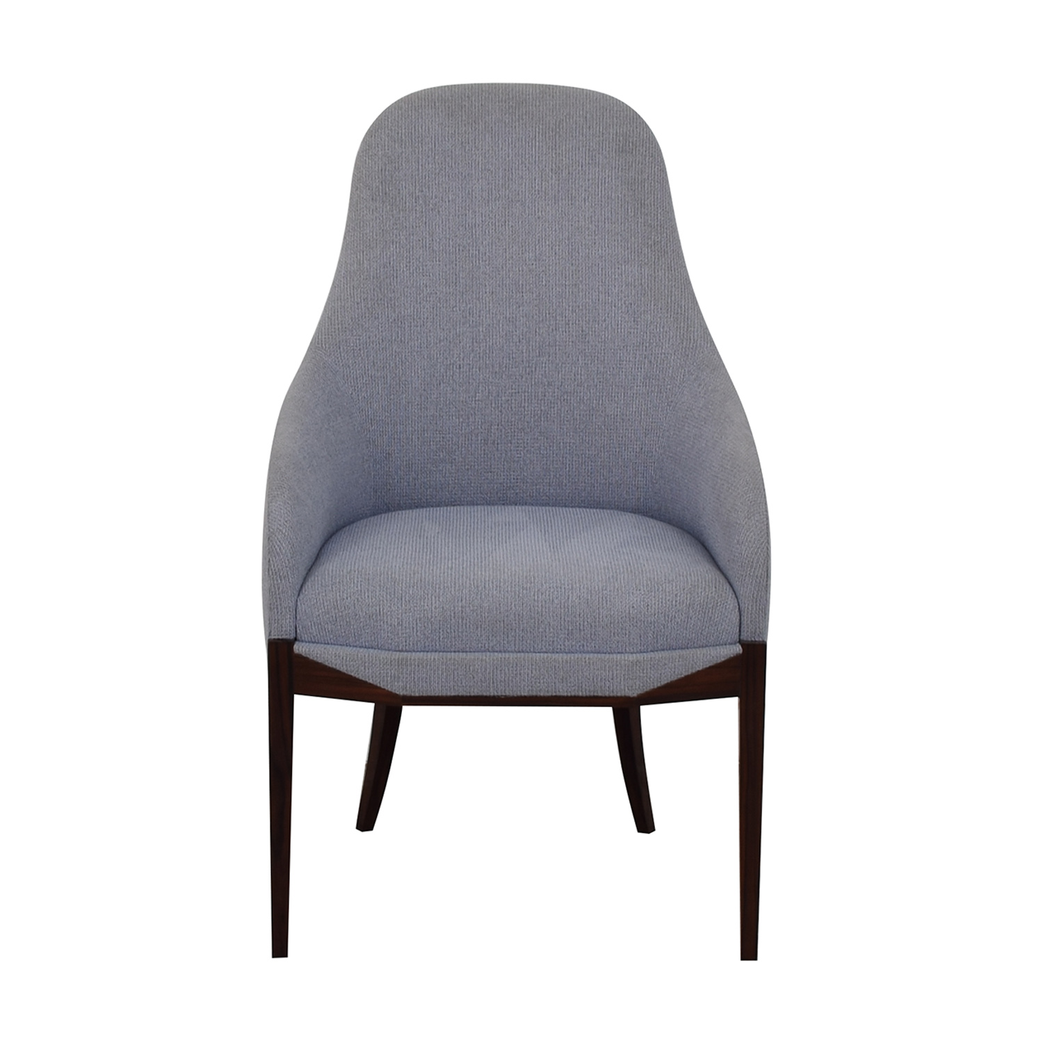 Furniture Masters Furniture Masters Light Blue Upholstered Chair sky blue