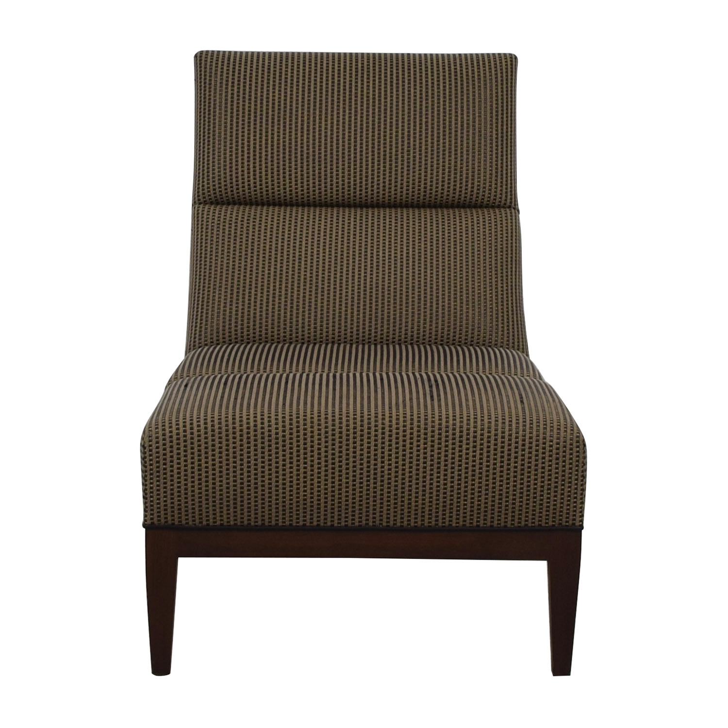 Furniture Masters Furniture Masters Brown Tweed Upholstered Accent Chair Accent Chairs