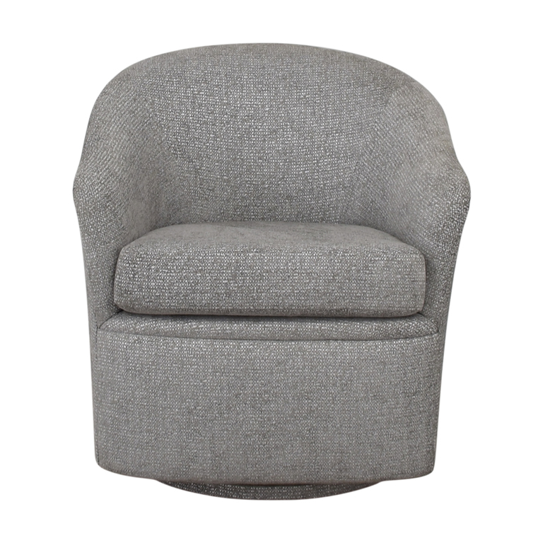 Furniture Masters Furniture Masters Gray Upholstered  Accent Chair nyc