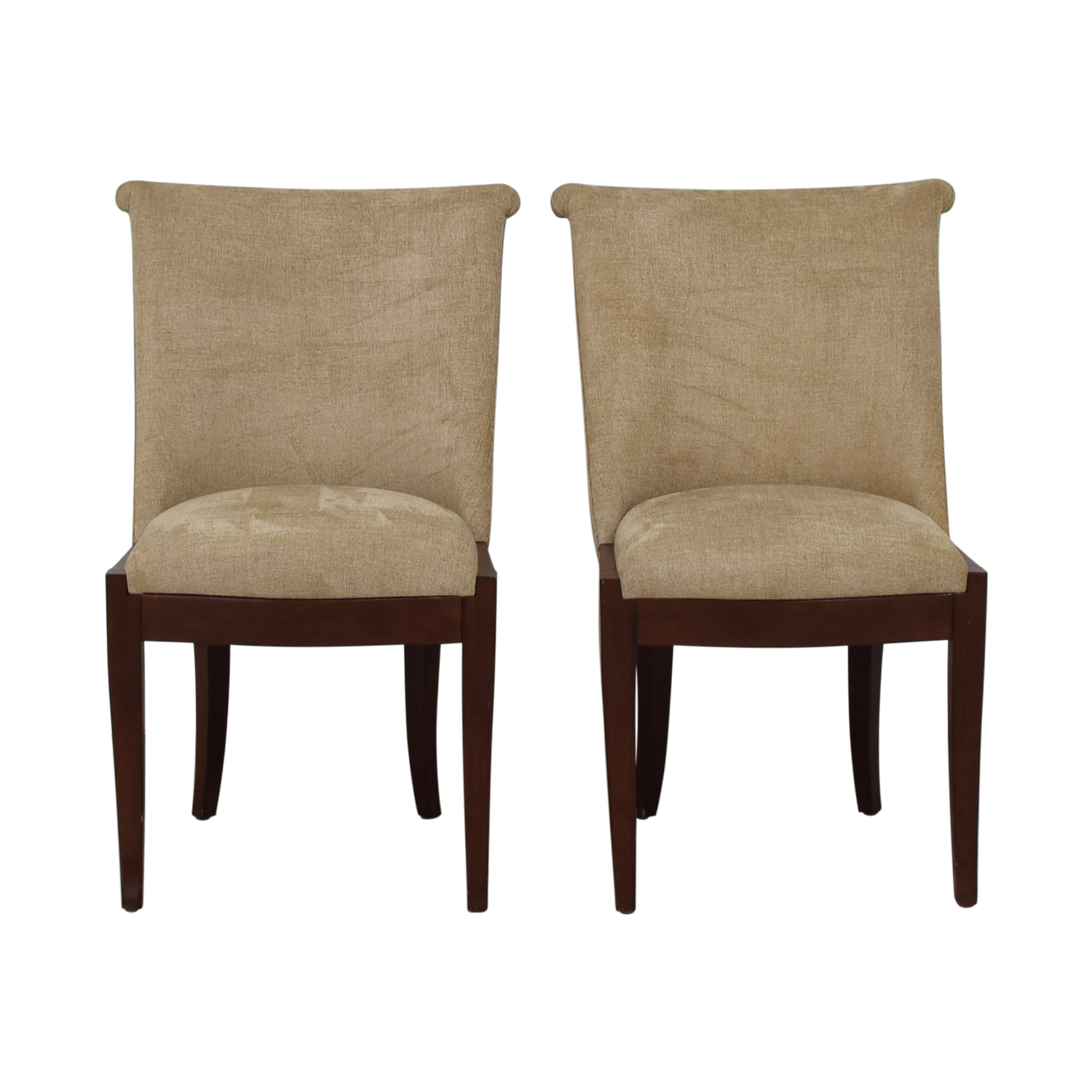 Furniture Masters Furniture Masters Tan Upholstered Chairs on sale